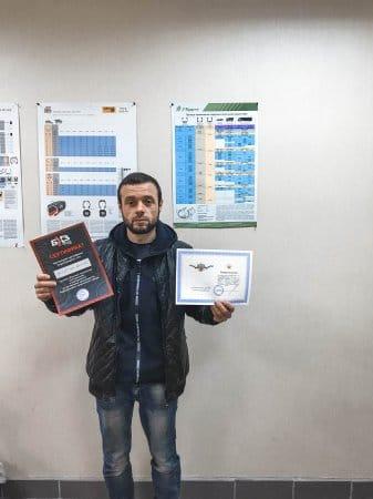 Выпускники: курсы шиномонтажа и развала схождения - Октябрь 2018