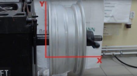 Полный цикл: правка и прокатка дисков