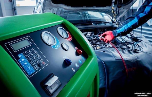 Курс заправки кондиционеров автомобилей